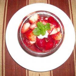 coupe de fraises