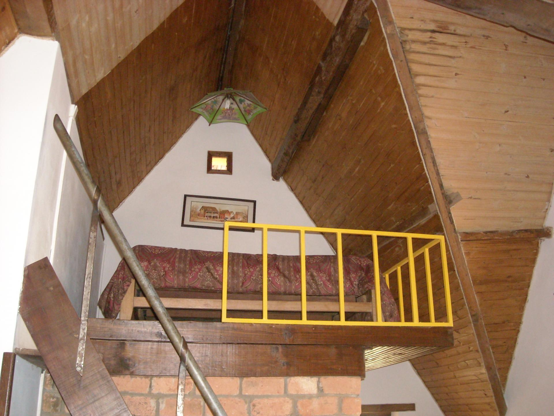 lit en mezzanine